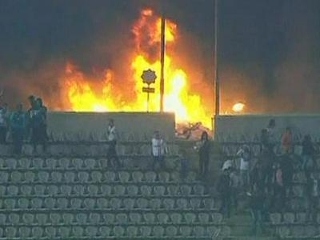 Egypt football violence claims 'At least 73' lives, about 1000 people hurt.