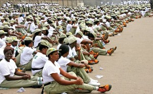 NYSC members serve as tea girls and boys at National Assembly
