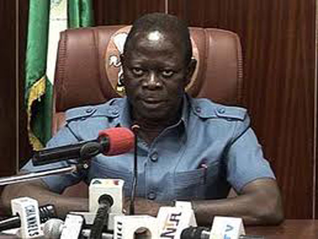 Image result for Angry oshiomole