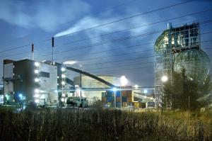 Sweden&#039;s waste incineration plant