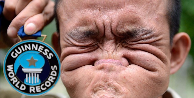 : Man Who Makes Ugliest Face In The World Wins $10000, Guinness World ... Ugliest Person In The World Guinness World Record