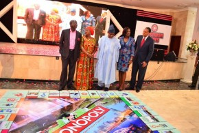 Dignitaries at the City of Lagos Monopoly Tournament.