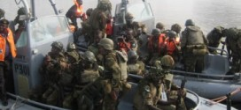JTF Intercepts, Destroys Oil Bunkering Barge, Product In Rivers