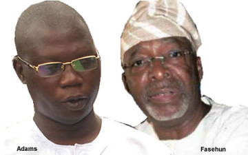 Image result for Frederick Fasehun, Gani Adams