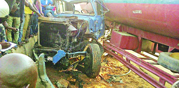 Tanker Crash Kills Driver, Injures Two Others In Ebonyi niyi  2 hours ago