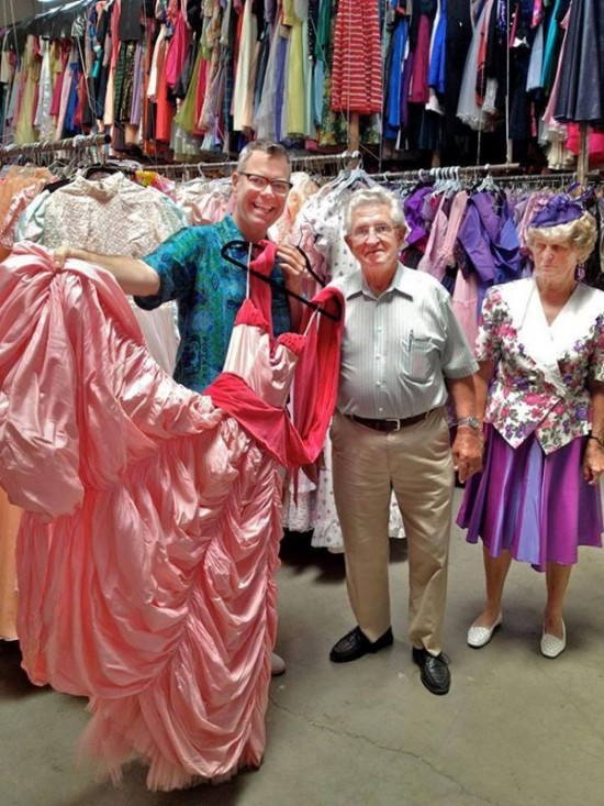 Loving Husband Buys His Wife 55 000 Dresses In 56 Years