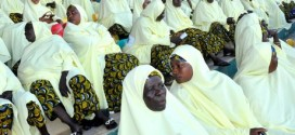 INTENDING MUSLIM PILGRIMS FROM PLATEAU, AT A FAREWELL CEREMONY FOR THEM IN JOS
