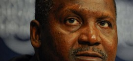 aliko dangote at wef ii