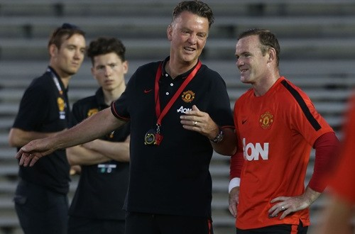 It Was a 'Difficult' Start Under Van Gaal, Says Rooney
