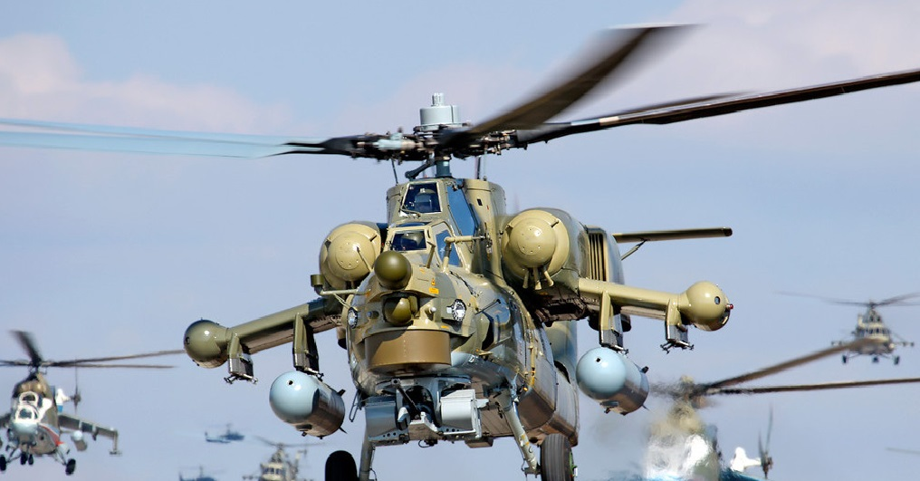 Anti Terrorism War Fg Orders 40 Attack Helicopters From