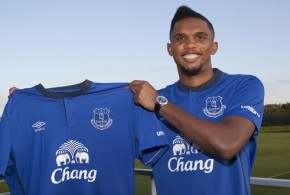 Samuel Eto'O Joins Everton