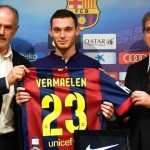 Thomas Vermaelen Joined Barca from Arsenal in August.