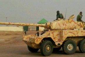 T-55 ARMOURED TANK CAPTURED BY NIGERIAN TROOPS FROM INSURGENTS