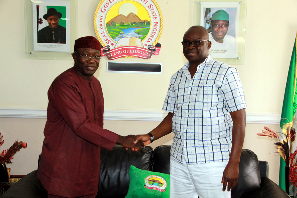 Image result for Ekiti Assembly asks Fayose to probe Fayemi