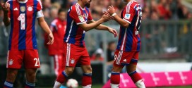 Bayern's Ribery & Rafinha Sidelined for Two Weeks