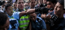 Hong Kong Student Leaders Arrested As Police Move On Protest Site