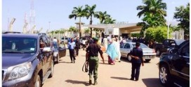 Nigeria police explain why they invaded the National Assembly today