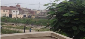 Photos: Riot in Lekki Lagos between Okada riders, thugs and police