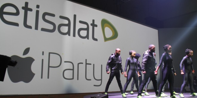First Ever Etisalat iParty Held in Lagos