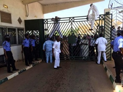 NASS Fracas: Tambuwal, Others Assaulted Police Officers, Evaded Due Process – Force Headquarters