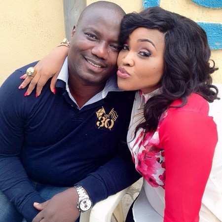 Image result for mercy aigbe and husband