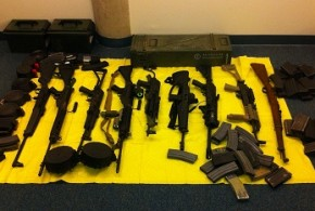 arms and ammunition