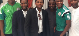 Some Of Nigeria's Football Legends Pictured Together