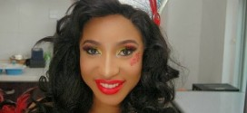 See How Tonto Dikeh Is Protecting Her New Boyfriend