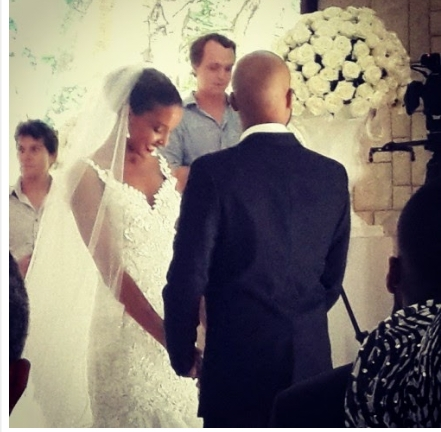 Photos: Lagos big boy Kolapo Sodeinde weds former Miss South Africa