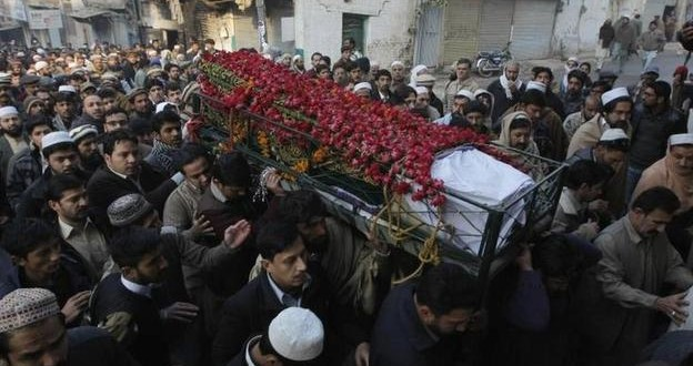 Pakistan In Mourning As Parents Bury Children After School Attack