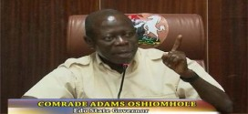 Oshiomhole Clears The Air On N3.5trn Pension Fund