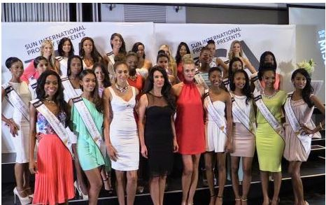 3 contestants in miss south africa pageant disqualified for Miss tattoo pageant