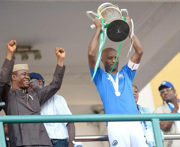 Enyimba FC Defeated Dolphins to Win the 2014 Federation Cup at the Teslim Balogun Stadium in November.
