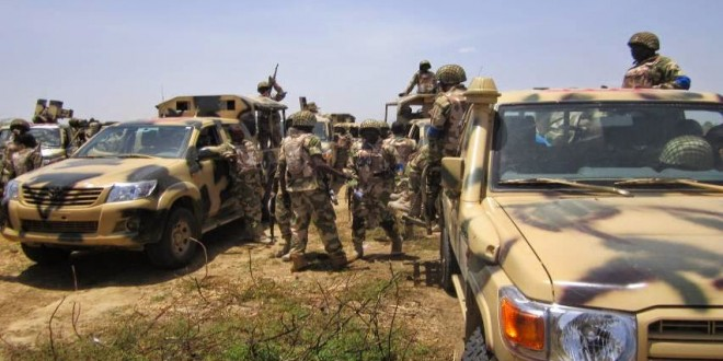 Troops Patrol Borno Villages In Search Of Insurgents As Military Investigates Claims Of Mass Abduction