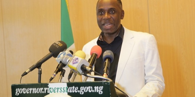 Amaechi Promises Rivers Workers Prompt Payment Of Salaries, Disowns Jonathan