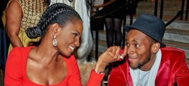Checkout This Lovely Photo Of D'banj & Agbani Darego