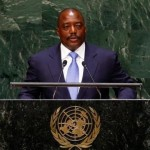 Joseph Kabila Kabange, President of the Democratic Republic of the Congo, addresses the 69th United Nations General Assembly at the U.N. headquarters in New York