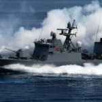 fast-speed Hulk-class guided missile boats
