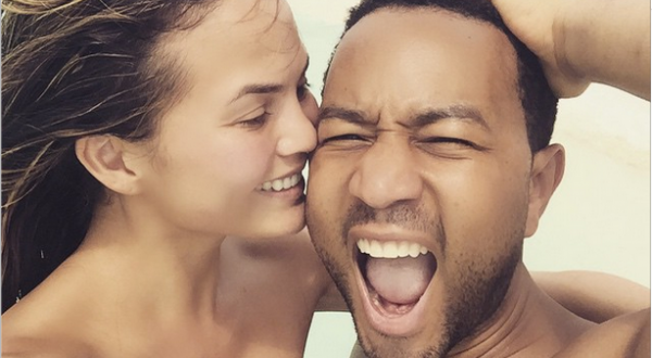 John Legend's Wife Shares Photos Of The Couple's Romantic Time Together In Singapore