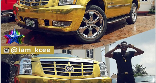 KCee Flaunts Expensive And Luxurious Cars He Acquired All Within This Year