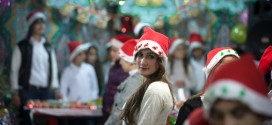 Displaced Christians In Iraq Prepare For Christmas With Festive Holiday Market
