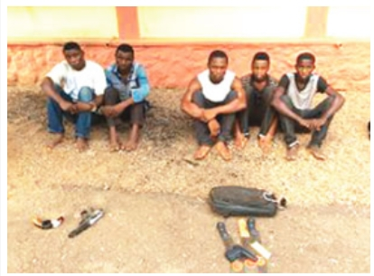Police arrest robbers at Redemption Camp, others