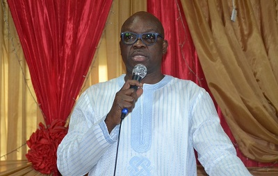 Governor Fayose has evicted the Revenue Mobilization and Fiscal Allocation Commission (RMAFC) from property occupied by the agency in Ekiti State.