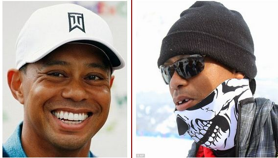 photos  tiger woods replaces tooth that got knocked out