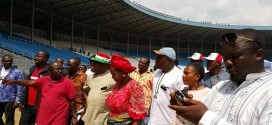 PDP Defies Amaechi, Takes Over Adoke Amasiemeka Stadium Rivers State