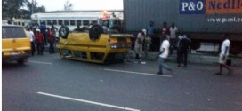 Photos: Fatal Accident On Mile2 Road This Morning