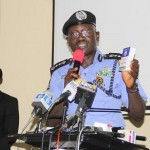 IGP SULEIMAN ABBA INTRODUCING THE NIGERIA POLICE FORCE STANDARD OPERATIONAL GUIDELINES/RULES FOR POLICE OFFICERS ON ELECTORAL DUTIES (CREDIT: NPF WEBSITE)