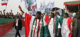 Jonathan Vows To Defend Nigeria's Unity If Re-elected