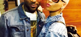 D'banj Poses With Amber Rose Before His Anniversary Concert Kicked Off In Lagos | PHOTO