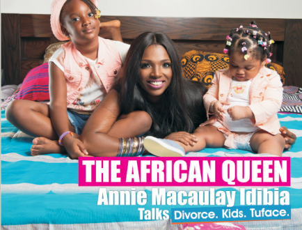 """Annie Idibia: """"I Wish I Was The Biological Mother Of All 2face's Seven Children"""""""